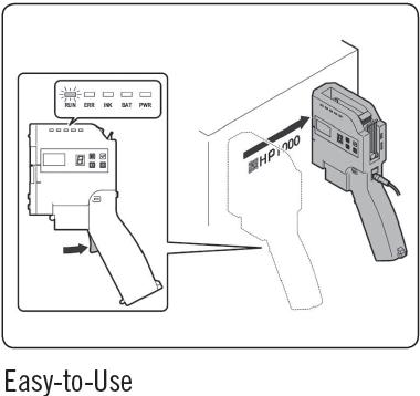 DailyJet HP1000 Hand Coder - Easy to Use