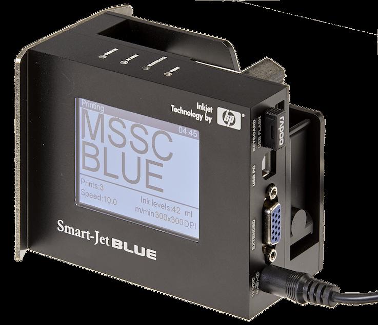 Smart Jet Blue Ink Jet Printer Mssc Llc